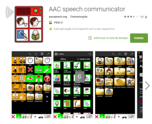 Imagem website AAC_speech_communicator