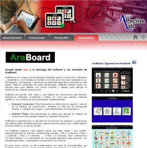 Imagem do website araboard