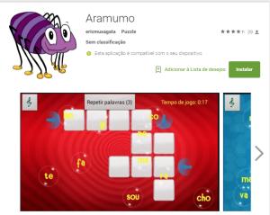 Imagem website Aramumo