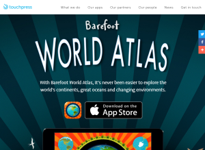Imagem website Barefoot_world_atlas