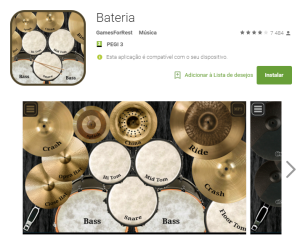 Imagem do website Bateria_app