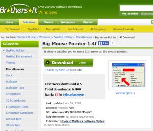 Imagem do website big_mouse_pointer