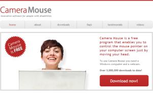 Imagem do website camera_mouse