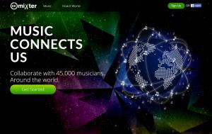 Imagem do website ccMixter