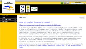 Imagem website  DDReader