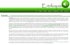 Imagem website  e-Triloquist