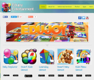 Imagem website Edujoy Entertainment