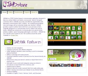 Imagem website JabTalk