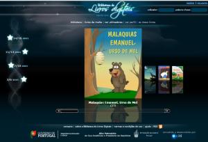 Imagem do website livros_digitais