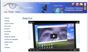 Imagem do website magiceye