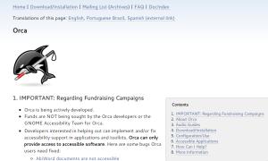 Imagem website ORCA