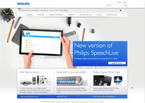 Imagem website  philips_free_speech