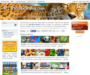 Imagem do website pics4learning