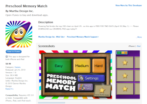 Imagem do website preschool_memory_match_app