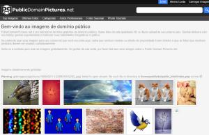 Imagem do website Public Domain Pictures