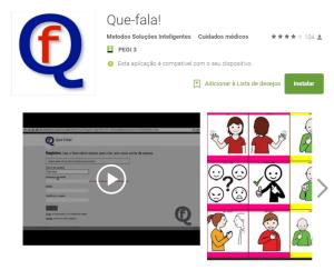 Imagem website Que_fala
