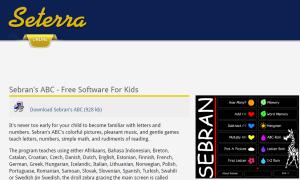 Imagem do website Sebran