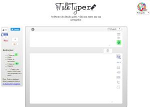 Imagem website  talk_typer