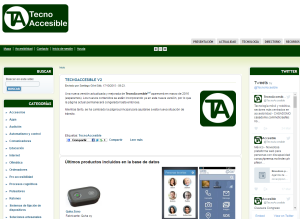 Imagem website tecnoaccesible