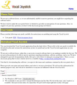 vocal_joystick