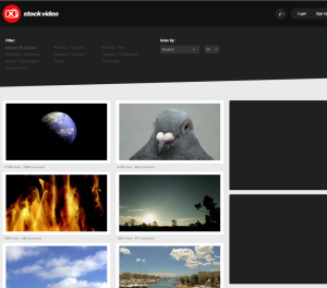 Imagem do website x_stock_video